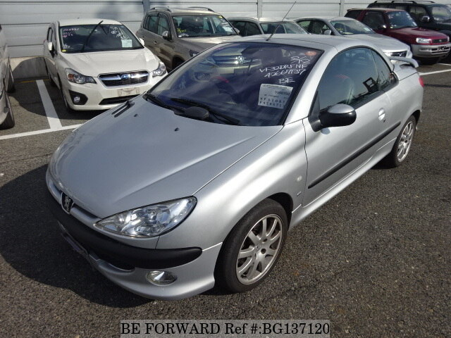 cf7fce9028 Used 2002 PEUGEOT 206 CC S16 GH-M206CC for Sale BG137120 - BE FORWARD