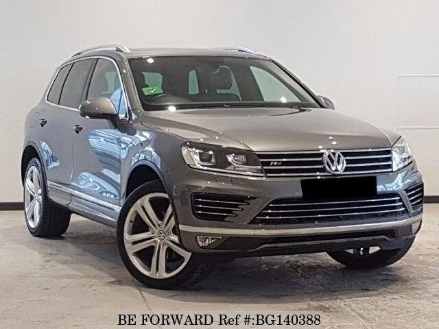Volkswagen Touareg For Sale >> Used 2017 Volkswagen Touareg For Sale Bg140388 Be Forward