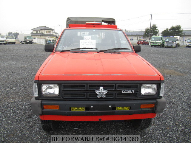 Used 1988 NISSAN DATSUN TRUCK W CAB FIRE ENGINE/L-FMD21 for