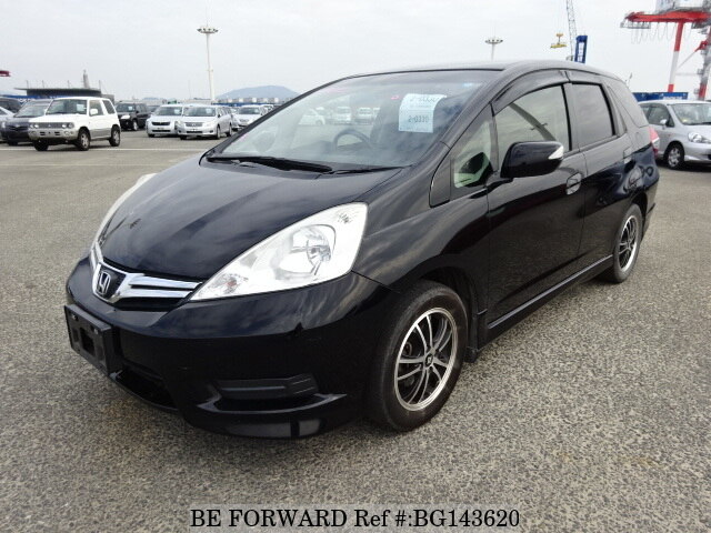 Used 2012 HONDA FIT SHUTTLE 15X S PACKAGE/DBA-GG7 for Sale BG143620 - BE FORWARD