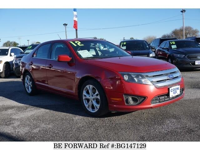 2012 Ford Fusion For Sale >> Used 2012 Ford Fusion For Sale Bg147129 Be Forward