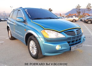 Used 2005 SSANGYONG KYRON BG150192 for Sale
