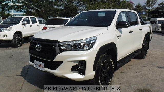 Used 2018 TOYOTA HILUX 2 8 for Sale BG151818 - BE FORWARD