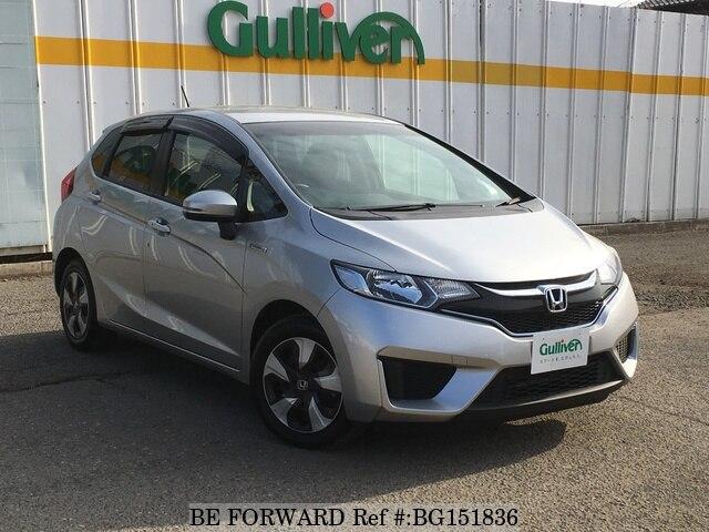 Used 2016 Honda Fit Hybrid Bg151836 For