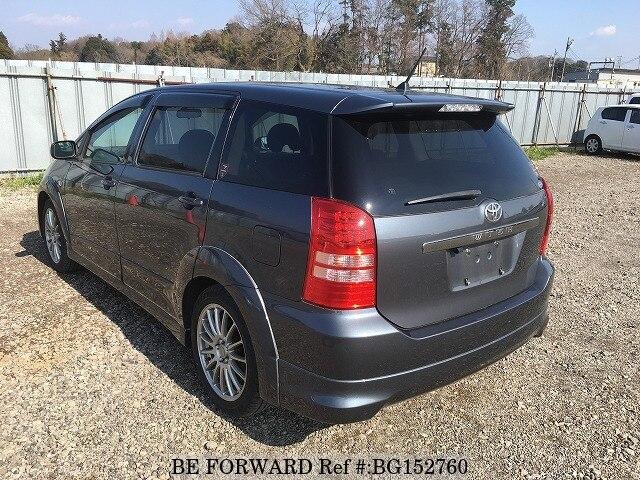 Used 2003 TOYOTA WISH Z/UA-ANE11W for Sale BG152760 - BE ...