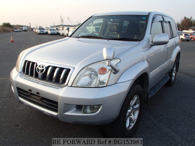 Used 2003 TOYOTA LAND CRUISER PRADO BG153981 for Sale