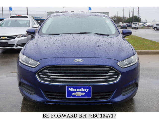 2014 Ford Fusion For Sale >> Used 2014 Ford Fusion For Sale Bg154717 Be Forward