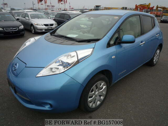 Used 2014 NISSAN LEAF BG157008 for Sale