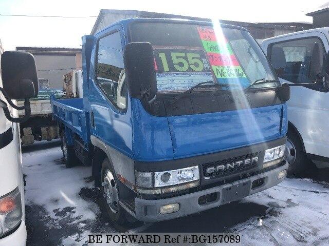Used 2001 MITSUBISHI FUSO CANTER/KK-FG50EBD for Sale BG157089 - BE