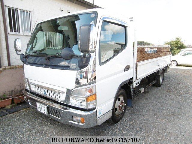 Used 2004 MITSUBISHI FUSO CANTER/KK-FE82EE for Sale BG157107 - BE