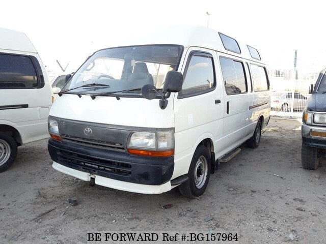 a4917148d4 Used 1996 TOYOTA HIACE VAN for Sale BG157964 - BE FORWARD