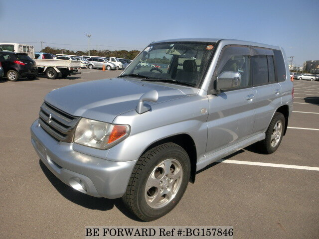 Used 2006 MITSUBISHI PAJERO IO BG157846 for Sale