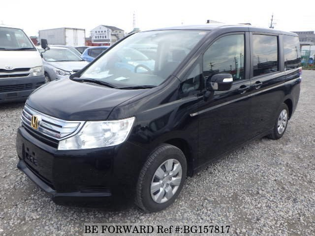 Used 2010 HONDA STEP WGN BG157817 for Sale