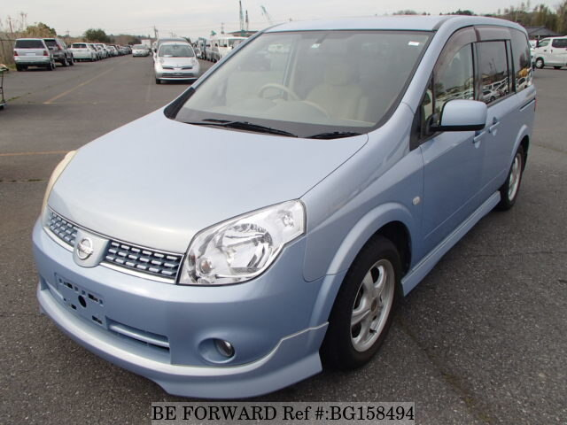 Used 2005 NISSAN LAFESTA BG158494 for Sale