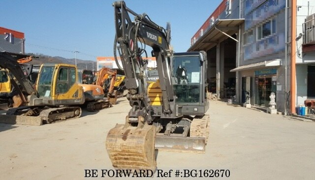 Used 2000 VOLVO EC55C BG162670 for Sale