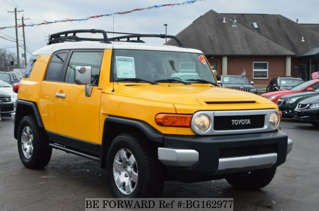 Used Toyota Fj Cruiser >> Used 2007 Toyota Fj Cruiser V6 For Sale Bg162977 Be Forward
