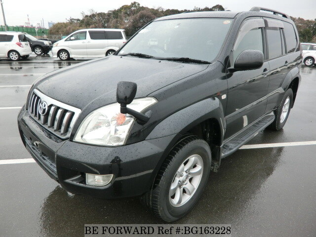 Used 2004 TOYOTA LAND CRUISER PRADO BG163228 for Sale