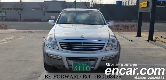 Used 2005 SSANGYONG REXTON BG163429 for Sale