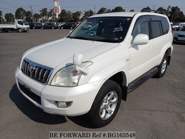 Used 2006 TOYOTA LAND CRUISER PRADO BG163548 for Sale