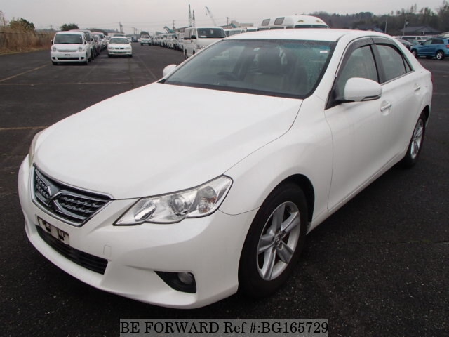 Used 2010 TOYOTA MARK X BG165729 for Sale