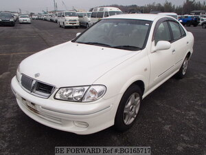 Used 2002 NISSAN BLUEBIRD SYLPHY BG165717 for Sale