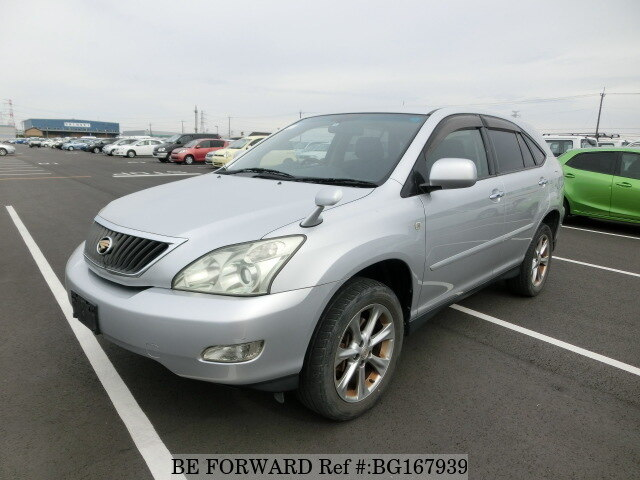 Used 2008 TOYOTA HARRIER BG167939 for Sale