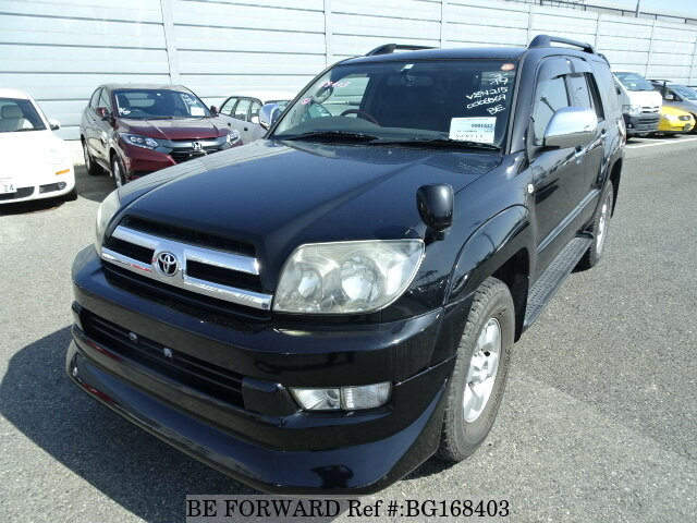 Used 2004 TOYOTA HILUX SURF BG168403 for Sale