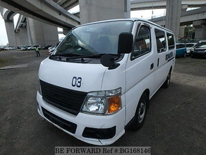 Used 2007 NISSAN CARAVAN VAN BG168146 for Sale