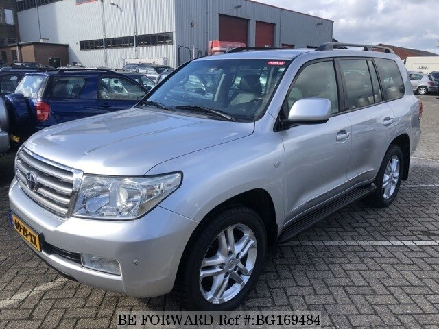 Used 2008 TOYOTA LAND CRUISER BG169484 for Sale