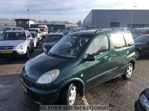Used 2001 TOYOTA YARIS VERSO BG169487 for Sale