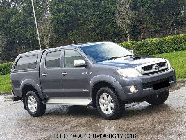 Toyota Hilux Diesel >> Used 2011 Toyota Hilux Manual Diesel For Sale Bg170016 Be Forward