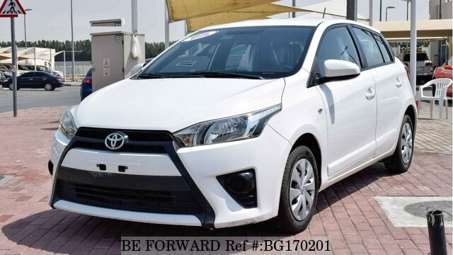 Toyota Yaris For Sale >> Used 2015 Toyota Yaris For Sale Bg170201 Be Forward