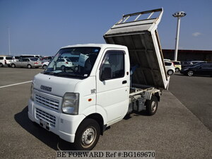 Used 2007 SUZUKI CARRY TRUCK BG169670 for Sale
