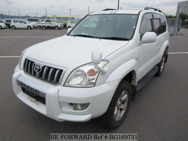 Used 2003 TOYOTA LAND CRUISER PRADO BG169731 for Sale