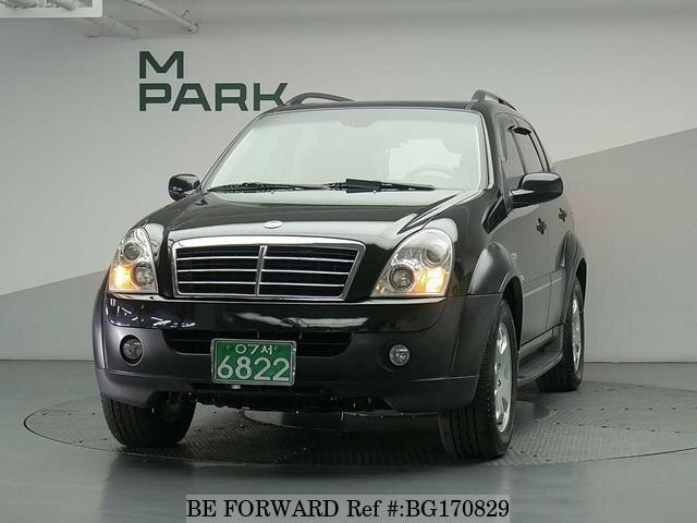 Used 2006 SSANGYONG REXTON BG170829 for Sale
