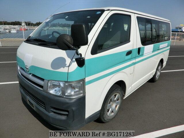 Used 2007 TOYOTA HIACE VAN/KR-KDH200V for Sale BG171283 - BE