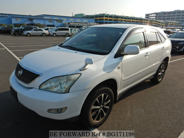 Used 2005 TOYOTA HARRIER BG171198 for Sale