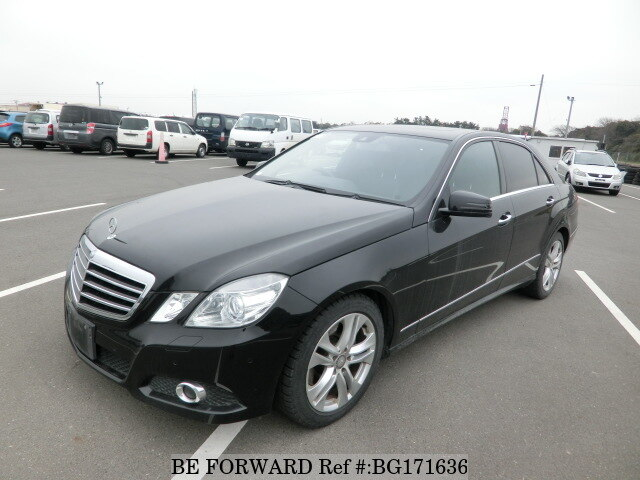 Used 2009 MERCEDES-BENZ E-CLASS BG171636 for Sale