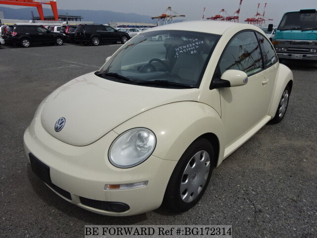 Used 2006 VOLKSWAGEN NEW BEETLE CREME GH 9CBFS For Sale