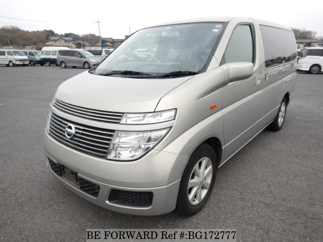 Used 2004 NISSAN ELGRAND BG172777 for Sale