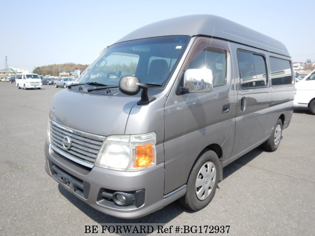 Used 2008 NISSAN CARAVAN VAN BG172937 for Sale