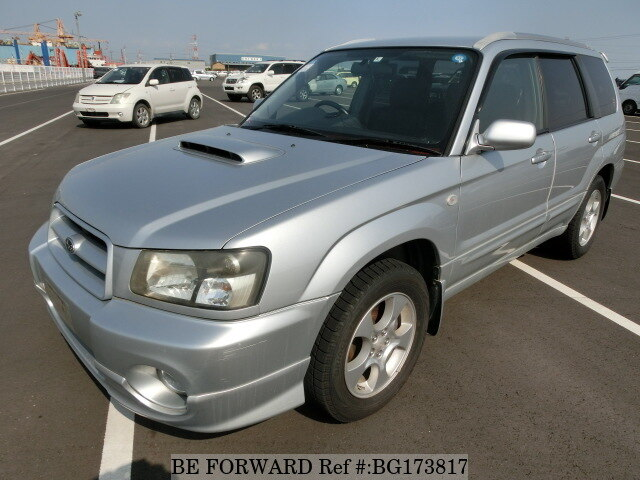 Used 2002 SUBARU FORESTER BG173817 for Sale