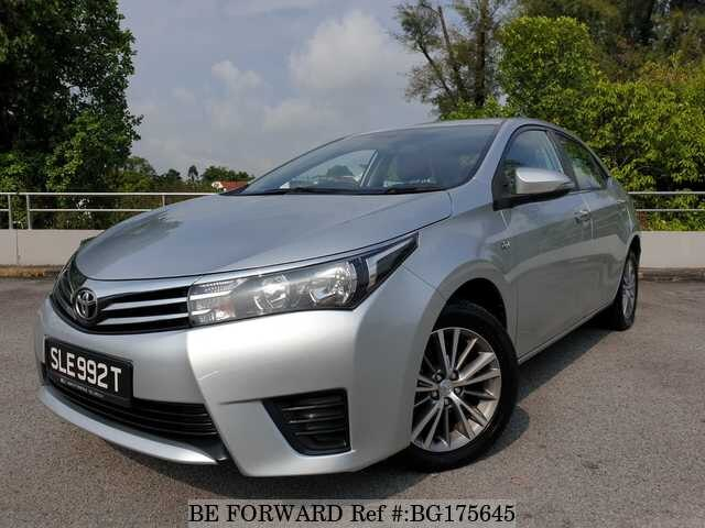 Used 2016 Toyota Corolla Altis Bg175645 For