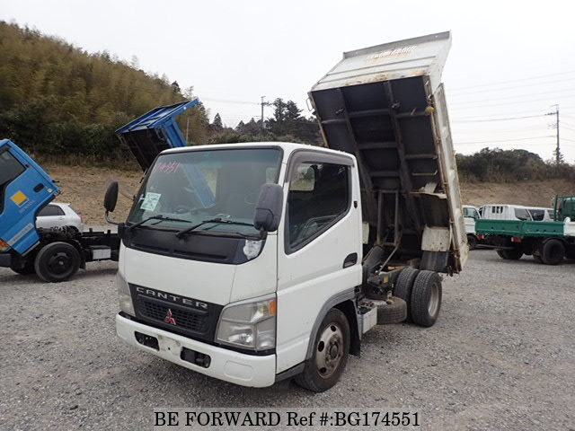 Used 2002 MITSUBISHI CANTER BG174551 for Sale