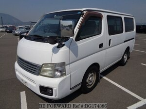 Used 2003 NISSAN CARAVAN VAN BG174386 for Sale