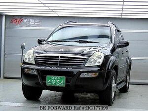 Used 2005 SSANGYONG REXTON BG177399 for Sale