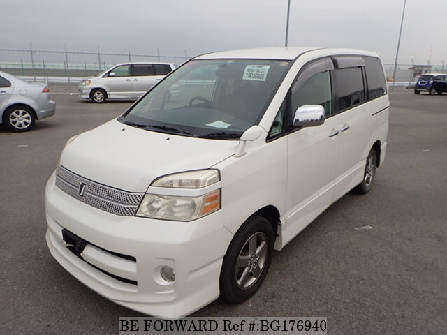 Used 2006 TOYOTA VOXY BG176940 for Sale