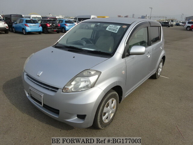 Used 2008 TOYOTA PASSO 1 0 X/DBA-KGC10 for Sale BG177003 - BE FORWARD