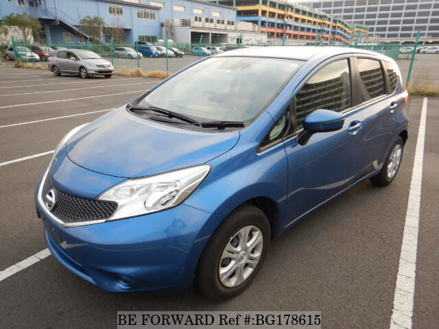 Nissan Note Occasion >> 2016 Nissan Note X Dba E12 D Occasion Bg178615 Be Forward