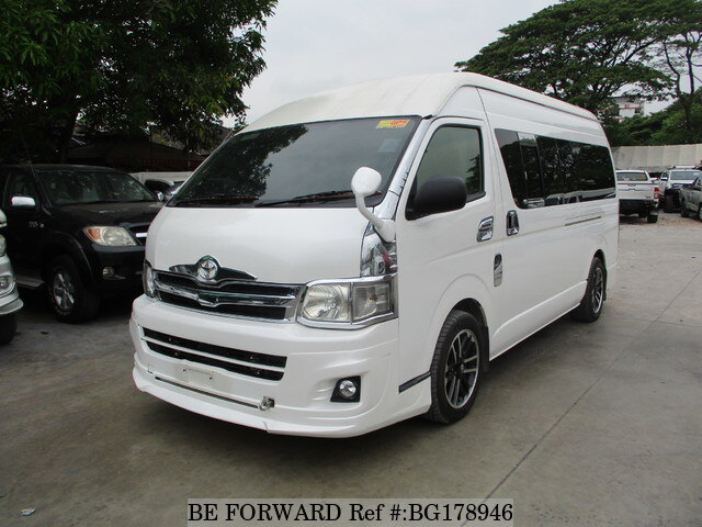 38104580f4 Used 2011 TOYOTA HIACE COMMUTER 2.5 for Sale BG178946 - BE FORWARD